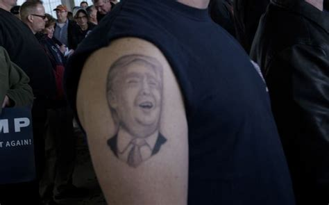tattoo of us donald trump who are all these donald trump supporters radio new