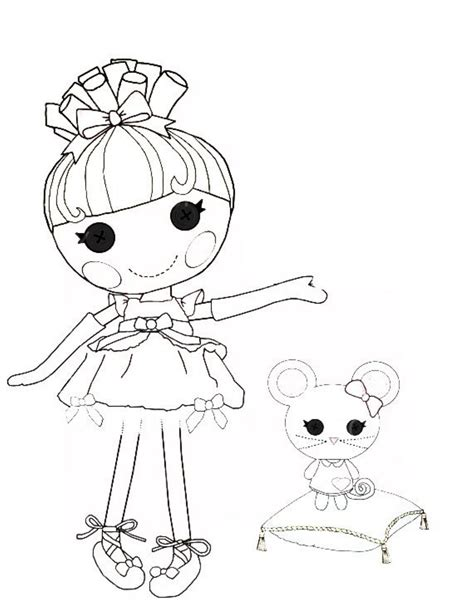 Lalaloopsy Coloring Pages Online Coloring Home Lalaloopsy Coloring Pages To Print