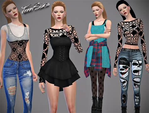 78 best the sims 3 accessories images on pinterest jennisims downloads sims 4 accessories lace collection