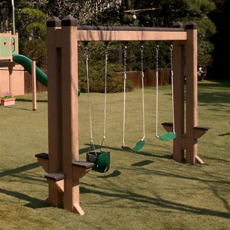 free standing toddler swing barbara butler play structure slide show extraordinary