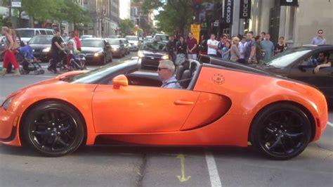 convertible bugatti orange convertible bugatti veyron grand sport vitesse