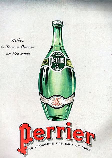ad  perrier mineral water water