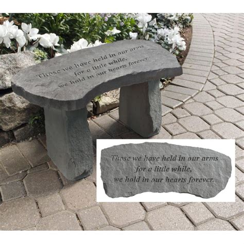 memorial garden benches engraved memorial garden stones
