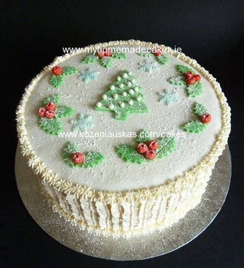 home made cake decorations christmas cake my homemade cakes