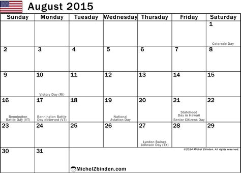 August Printable Calendar 2015 Search Results For Printable August 2013 Calendar With