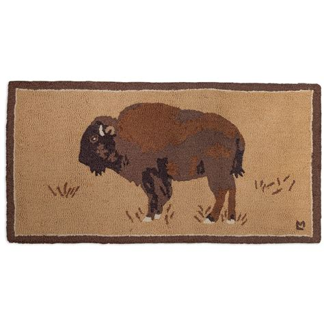 wool accent rugs buffalo on gold hooked wool accent rug