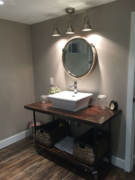 Track Lighting Bathroom Vanity Track Waterfalls And Industrial On