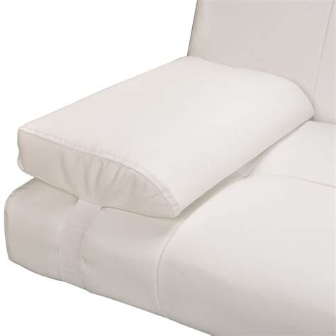 cream pillows for sofa sofa bed with two pillows adjustable cream white vidaxl com
