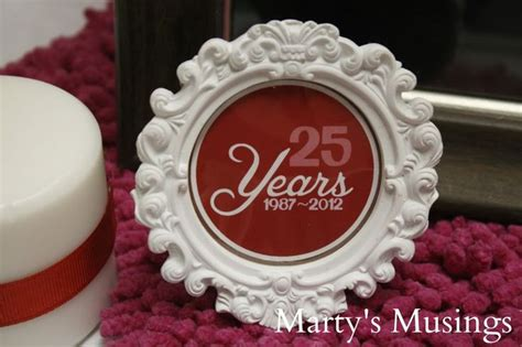 decoration ideas for 25th wedding anniversary workshop net 25th wedding anniversary table decor photograph 25th weddi
