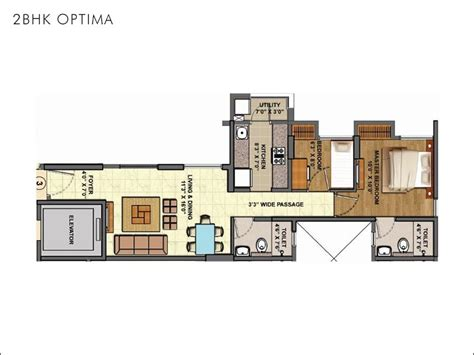 Pictures Of Open Floor Plan Homes Palava 1 2 Bhk Flats In Thane Mumbai For Sale