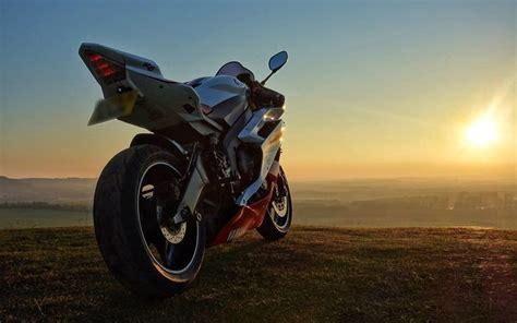 sunset yamaha  motorcycle hd wallpapers pinterest