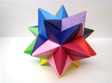 Origami Colored Paper - http www etsy listing 57043042 modular origami