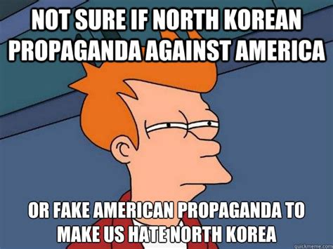Propaganda Meme - not sure if north korean propaganda against america or