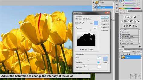 tutorial photoshop cs5 base photoshop cs5 replace color tutorial youtube
