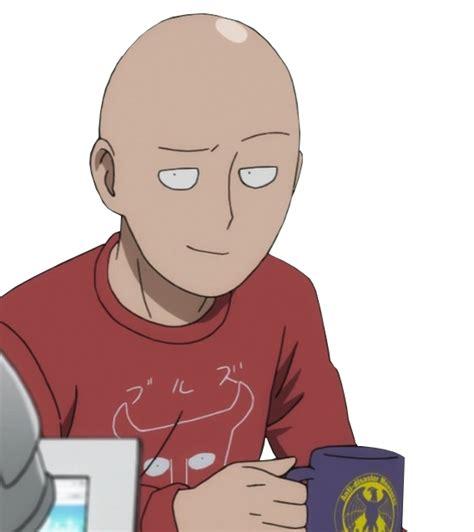 smug saitama smug anime face know your meme