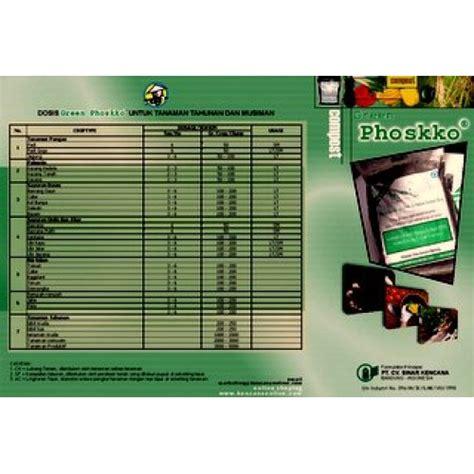 Harga 1 Kg Pupuk Kandang Sapi kompos 25 kg green phoskko 174 gp 5