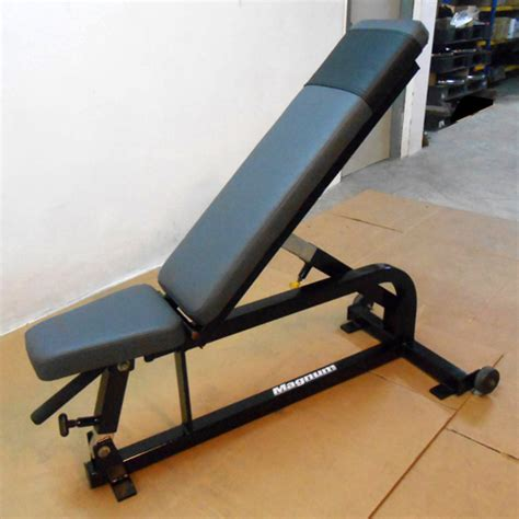 used adjustable weight bench magnum multi adjustable bench used gym equipment