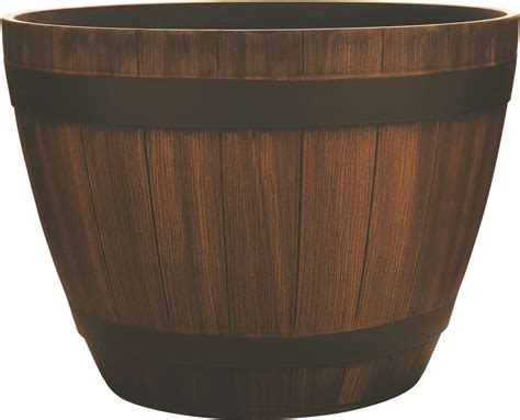 Hdr Planter by Southern Patio Hdr Wine Barrel Planter Ebay