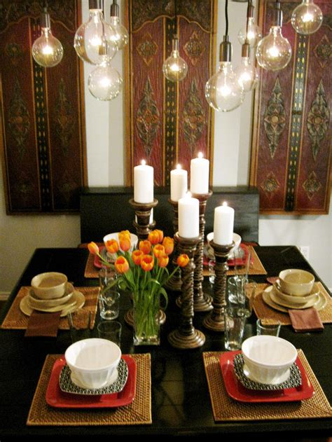 Dining Tables Decoration Ideas Serenity In Design Dining Room Ideas