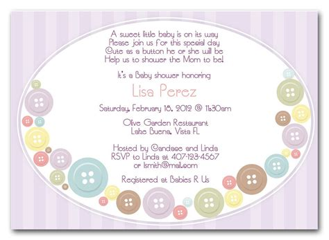 baby shower invitation wording baby shower invitations for best baby decoration