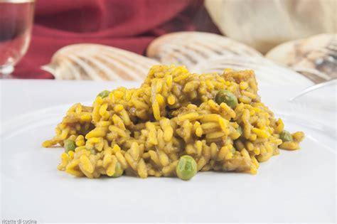 cucina riso risotto curry e pescatrice ricette di cucina