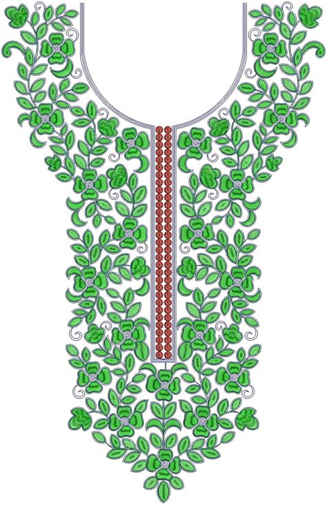 embroidery design for neck silk dupioni gown neck embroidery design