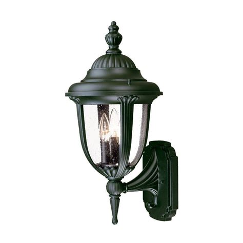 Black Light Outdoor Acclaim Lighting Surrey Collection Wall Mount 3 Light