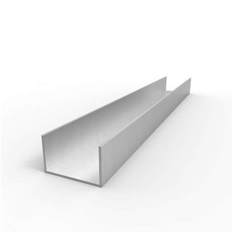 1 x 2 aluminum channel aluminum channel 1 quot leg x 1 5 8 quot od x 1 1 2 quot id x 1 16