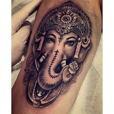 ganesh elephant tattoo mulpix gt gt peque 241 o tatuaje pero muy divertido ganesh