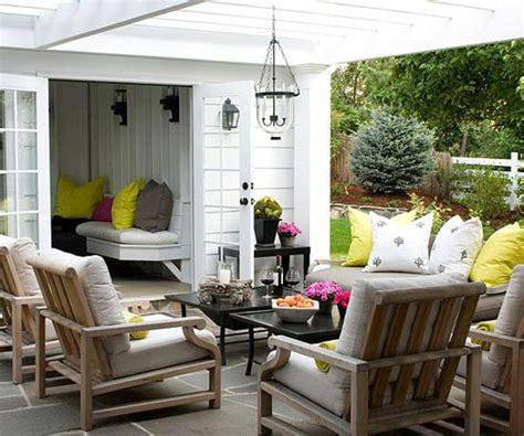 cozy outdoor spaces 15 cozy outdoor living space home design and interior