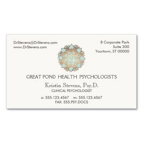 holistic business cards templates 184 best psychiatrist psychologist business cards images