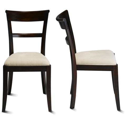 canopy dining chairs with upholstered seats walmart