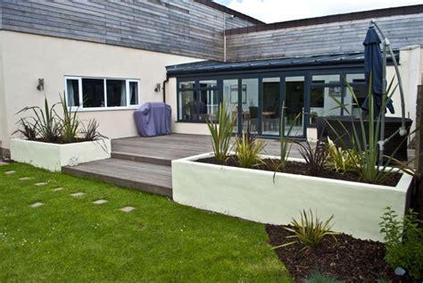 Raised Patio Designs Uk Landscape Design Landscape Design In Parkgate