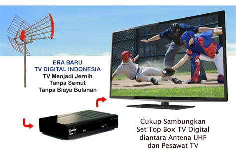 Harga Tv Channel Digital jual set top box tv digital murah ayo masuki era baru tv