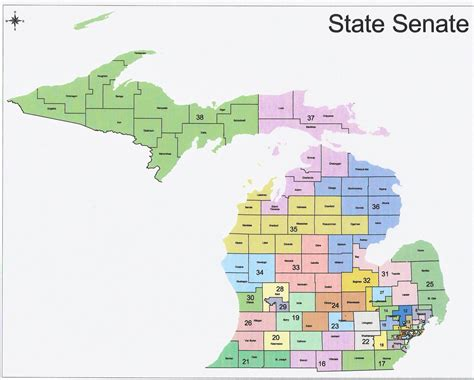Section 8 Wayne County Michigan by Rightmichigan Michigan Redistricting Official