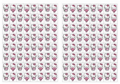 printable hello kitty stickers hello kitty stickers birthday printable