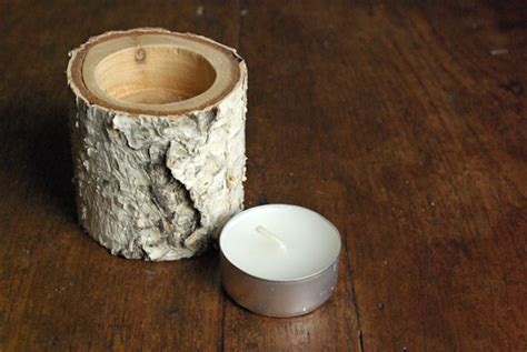 Christmas Decorations Made From Twigs 8 Easy Diy Wood Candle Holders For Some Rustic Warmth This