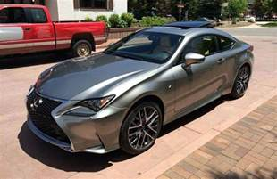 Lexus Rc Sport 2015 Lexus Rc 350 F Sport In The Flesh Images
