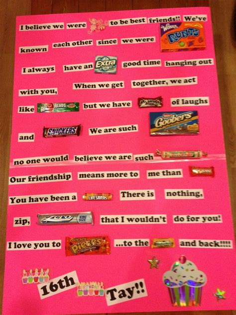 best friend birthday card i am doing this for my bff