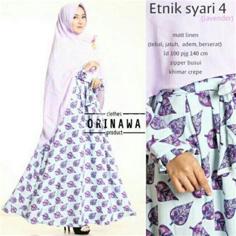 Set Baju Muslim Quality 1457 baju muslim wanita hijabs set etnik syari dan khimar busui terbaru quality yogyakarta
