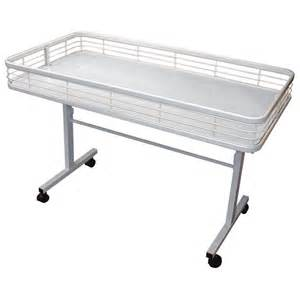 Metal Folding Table Legs Folding Leg Metal Dump Table Retail Display Tables By Grand Benedicts Store Fixtures