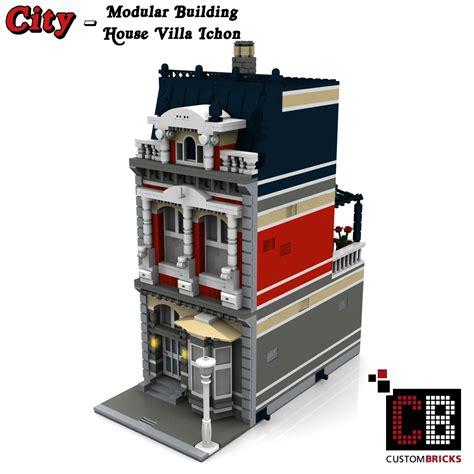 modular haus custombricks de lego city creator expert haus house