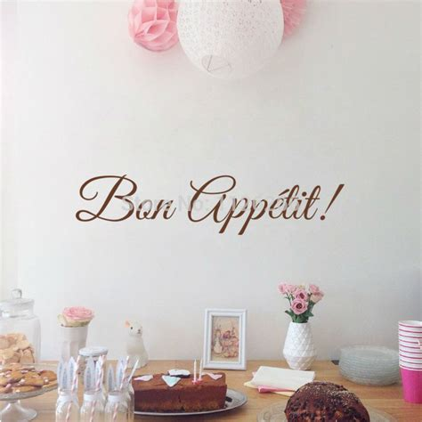 french word for home decor french word bon appetit wall decal kitchen vinyl wall