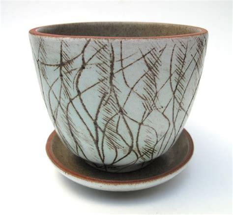 Ellis Planter by Retro Ellis Australian Pottery Planter Flower Pot Mid Century Eames Era