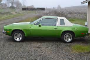 1976 chevrolet monza towne coupe coupe 2 door 305 v 8