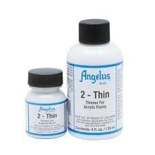 angelus paint neutral angelus 2thin for better spraying application