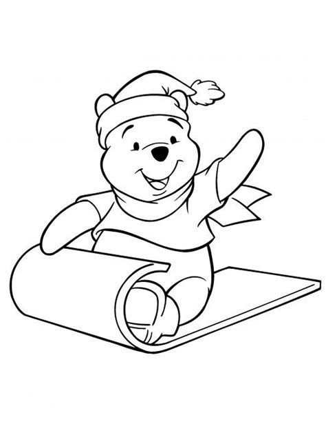 coloring pages winnie the pooh christmas winnie the pooh christmas printables christmas colors