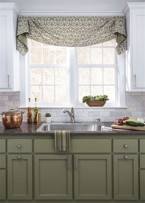 valance ideas for kitchen windows best 25 valance window treatments ideas on
