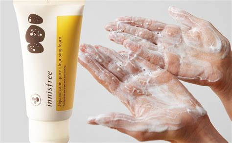 Pore Foaming Cleanser review innisfree jeju volcanic pore cleansing foam k