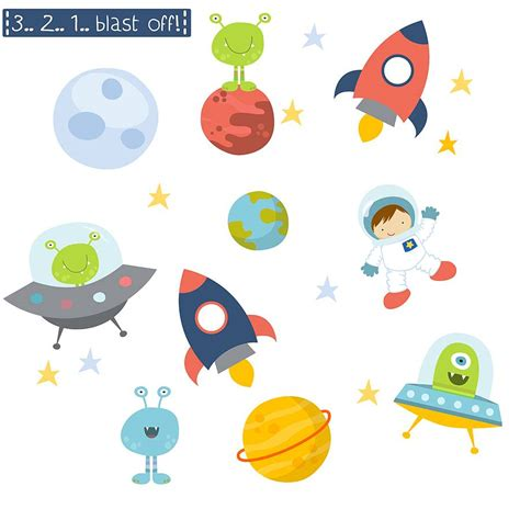 wall stickers space space fabric wall stickers by littleprints